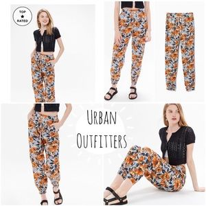 🆕UO Zoey Printed Pull-On Jogger Pant Small (NWT)